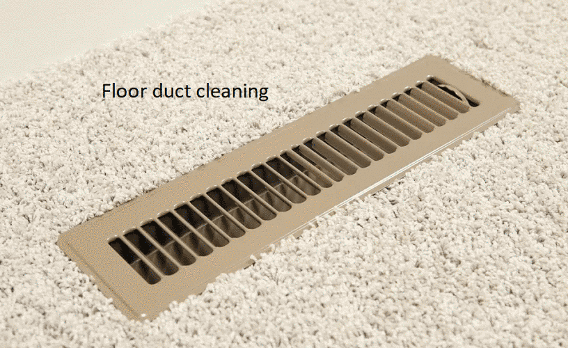 Floor Duct Cleaning Indented Head