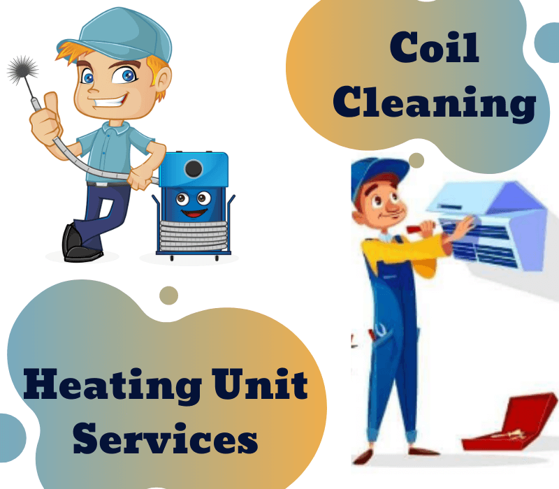 Coil Cleaning & Heating Unit