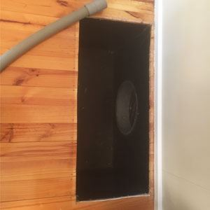 Air Ducted Heater Cleaning