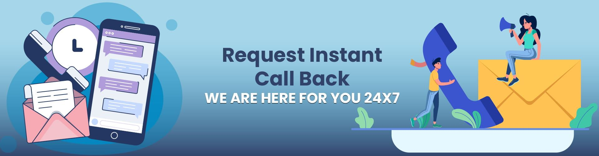 Request Instant Call Back