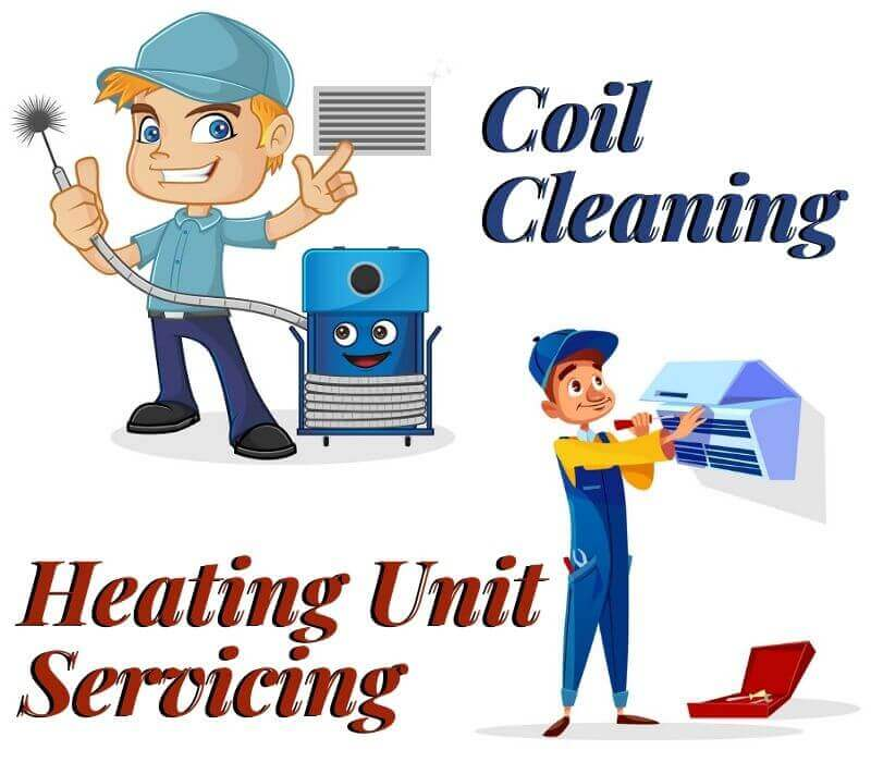 coil cleaning Huntingdale