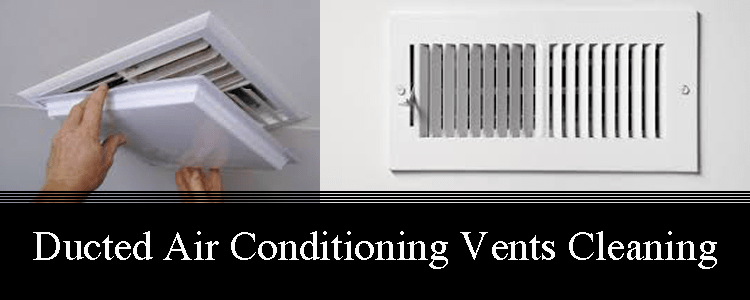 Ducted Air Conditioning Vents Cleaning